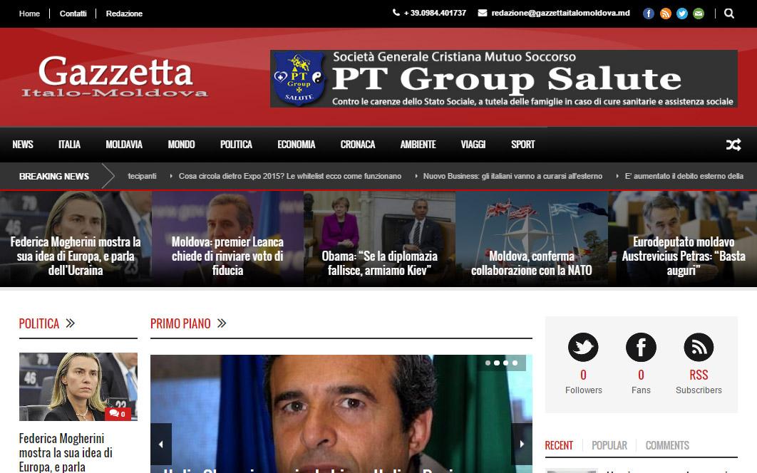 Gazzetta Italo Moldova